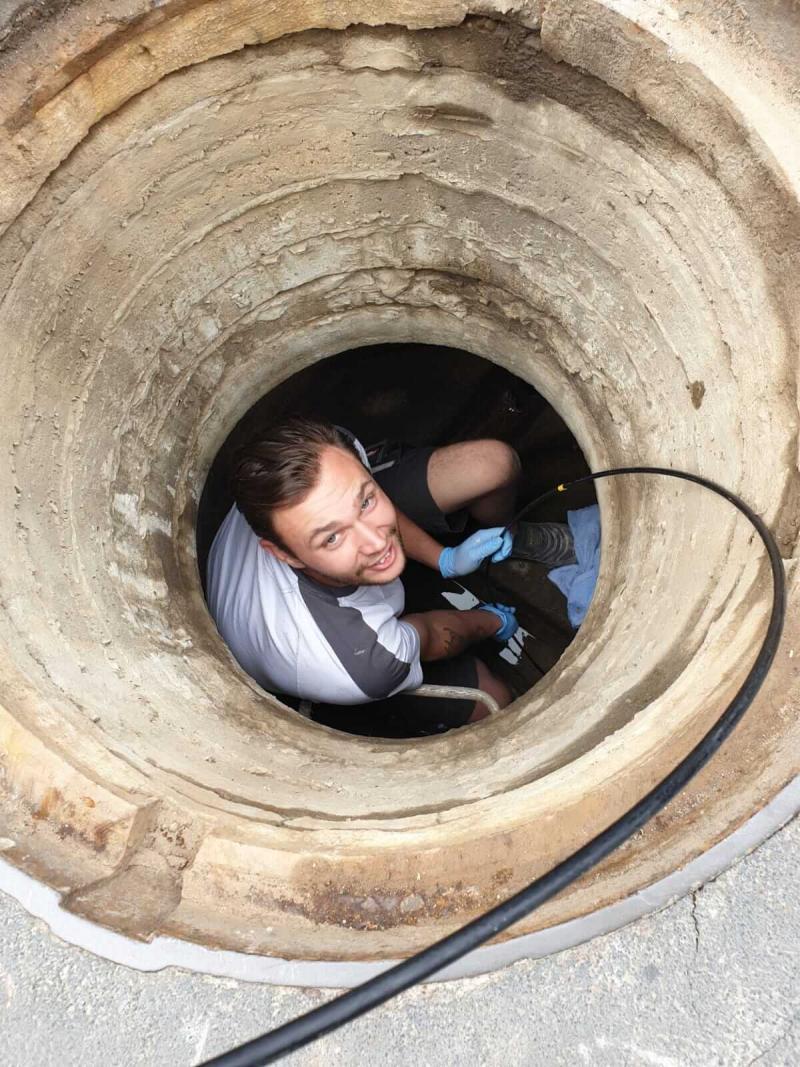 Kanalsanierung, Leitungsreparatur, Druckprüfung